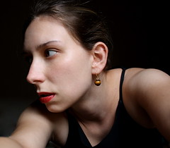(Catherine Bird) Tags: portrait selfportrait color autoretrato