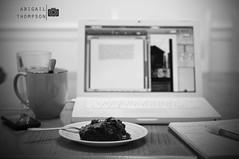 303/365 - Paper writing setup