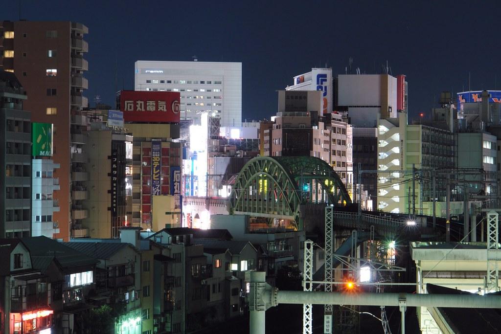 Akihabara (view from Hijiribashi)