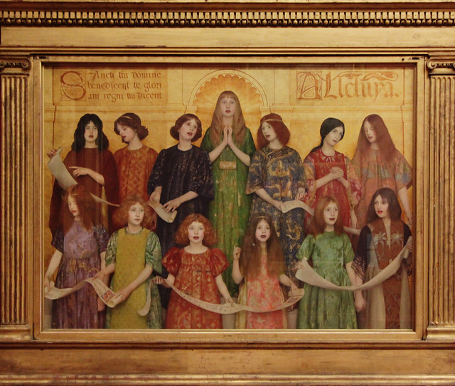 Alleluia, by Thomas Cooper Gotch, 1896