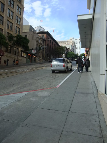 SFO Day 1: Steep Hill on Powell Street