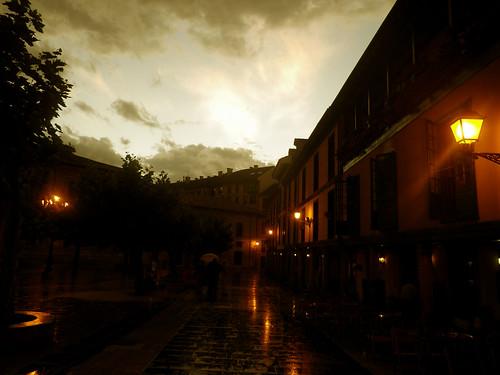 Te vi bailar bajo la lluvia