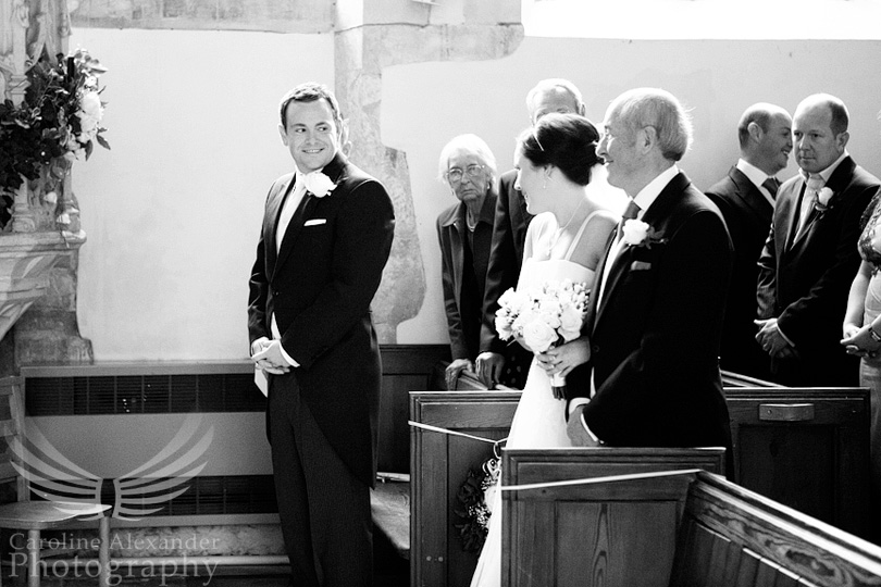 Gloucestershire Wedding Photographer Chedworth Church 8