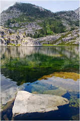 Trinity Alps Lake - by wanderinghome