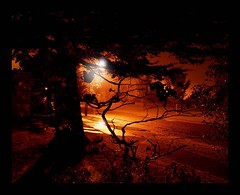 Hidden (Dion Climo Photography) Tags: sky night dark pain burning burnt ghostly