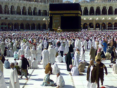 The Ka'bah and Masjid Al Haram-Hajj 2006 (Suli_77) Tags: travel islam 2006 sacred million annual muslims maka holyland bait masjid haj hajj makka macca  kabah          hajj2006   suli77     7aj