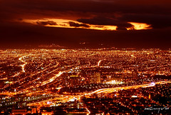 Santiago's Hell (Kenny Vox) Tags: chile city santiago light sky hot color luz colors night tristeza lights lava luces noche lucifer nikon 28mm capital great pueblo hell theend nikond100 evil ciudad burn final cielo nubes satan nocturna hermoso d100 nikkor independenceday angular favorita rios unica calor demonio infierno comuna excelente greatcolor delujo muwena expocsm2007