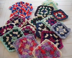 First set of Afghan Squares