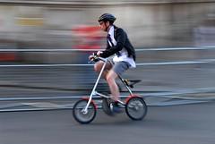 Smithfield Nocturne (jeremyhughes) Tags: london bike bicycle race cycling nikon cyclist explore cycle 1755mmf28g d200 condor tourdefrance nikkor rider smithfield criterium foldingbike rapha strida smithfieldmarket jeremyhughes nikond200 smithfieldnocturne