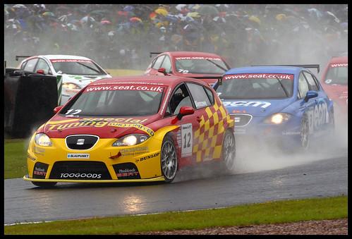 Alan Blencowe, Blaupunkt Seat Cupra Championship.