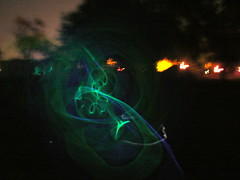 Glow stick swirlies