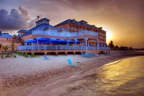 grand cayman  sunset