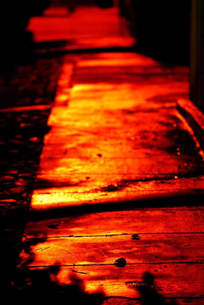 Nameless street...