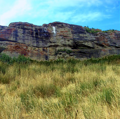 Head Smashed In Buffalo Jump - by ecstaticist
