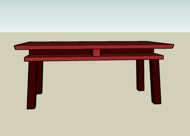 Torii Table Side
