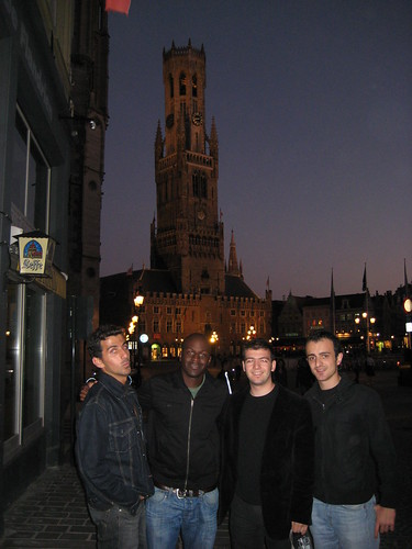The guys in front of The Belfry