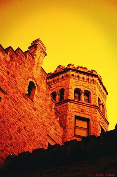Joslyn Castle in Redscale II