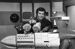 Rocketship 7 with Dave Thomas, Promo the Robot, Biff Beeper and Mr. & Mrs Sweetly, WKBW-TV Buffalo, N.Y. (stevesobczuk) Tags: newyork ontario station television kids buffalo 60s with 70s davethomas channel7 biffbeeper promotherobot wkbwtv rocketship7