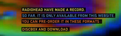radiohead precio disco