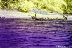 Boating @ Ulu Tembeling (Infrared) (2121studio) Tags: travel art nature ir boat artwork nikon d70 ali malaysia infrared indah kuantan melayu kembara seni jerantut sampan orangasli karya bestphoto nikonian drali topphotographer topimage ulutembeling convertedinfraredcamera 2121studio karyaseni jeramperahu kuantanphotographer pahangphotographer ciptaanallahswt malaysianinfraredphotographer sgtembeling 0139342121 alikuantan worldbestphoto naturephotocamp2009siriii perkhemahanfotoalam2009 luarbiasanaturephotocamp2009