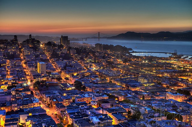 San Francisco in HDR