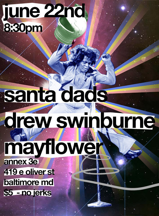 Santa Dads, Mayflower, Drew Swineburne