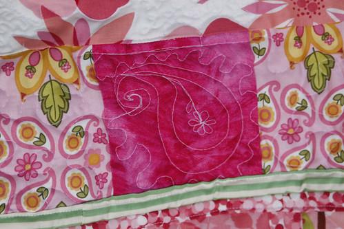 Pink Quilt detail 1