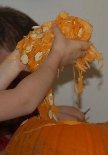 Pumpkin goop