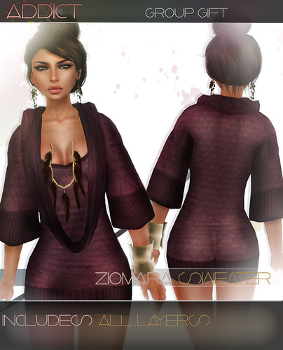 -[AddiCt]-ZIOMARA Sweaterdress GROUP GIFT
