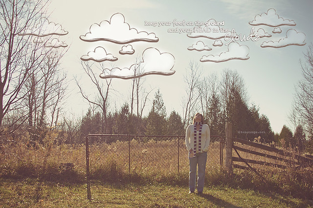 head in the clouds 307/365