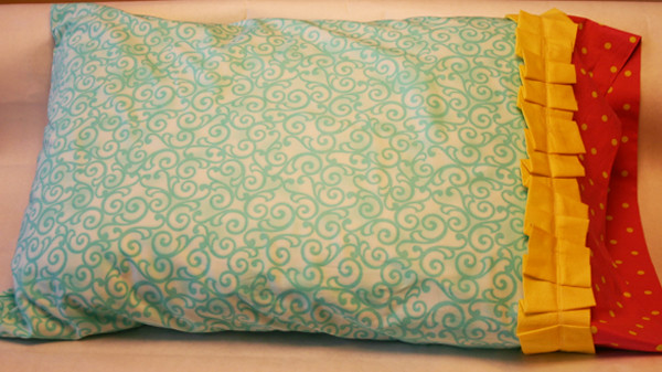 open pillowcase