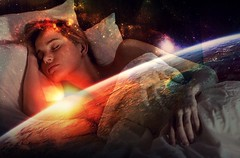 Descansa en tu universo y abre la mente a todos tus sueños... (conejo721*) Tags: argentina amor palabras mardelplata universo poesía poema sentimientos rostrodemujer conejo721