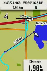 GPSMAP 62s Map