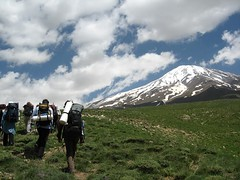 Start to have a climb together. Damavand 5671 m. (Mojtaba ShadmanRad) Tags: mountain nature persian iran damavand persia climbing shadman mojtaba shadmanrad 5671m summit