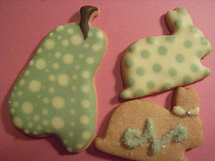 Icing on Biscuits 1 (rosey sugar) Tags: fruits animal cake decoration icing biscuits dots yayoi kusama sugarcraft