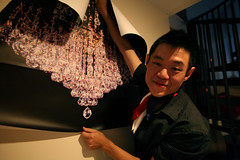 comit de dcoration (sgoralnick) Tags: decorations party chandelier phillip bastilleday whiskladle whiskandladle phillipckim