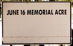 June 16 memorial acre