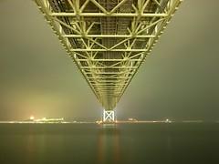 Akashi Kaikyo Ohashi suspension bridge