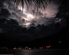 Lightning in Perhentian Island, Terengganu, Malaysia (Fadzly @ Shutterhack) Tags: trip travel sea vacation holiday storm hot nature night writing catchycolors dark landscape asian island seaside interestingness nikon asia published poem emotion expression natureza natur wide natuur fast natura literature explore malaysia tropical vista expressive tropic lightning write moment paysage 风景 perhentian pulau asean 風景 terengganu equator humid pulauperhentian landschap publish decisive mys unprocessed perhentianisland 景色 maleisië charakter マレーシア sigma30mmf14exdchsm explored 马来西亚 sooc utatafeature besut nikonstunninggallery kalikasan nikond40 shutterhack tsunamiinthesky helpsaveourearth beautifulhour