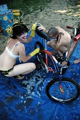 Clown House bike wash