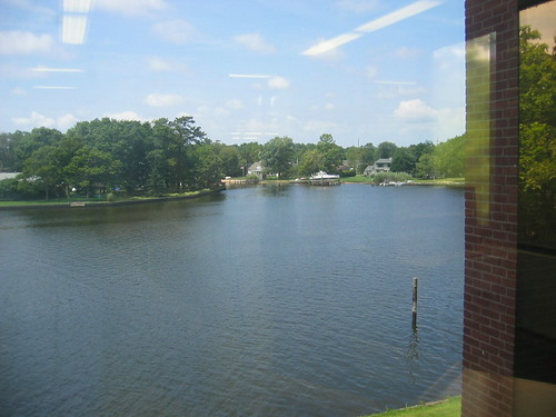 Connetquot River from 2nd floor library