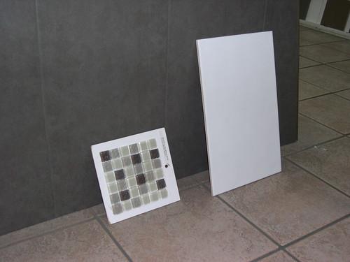 New Bathroom Wall and Floor Tiles