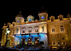 Monte Carlo casino at night (Peace Correspondent) Tags: gambling architecture night d50 geotagged nikon mediterranean riviera landmark noflash casino montecarlo monaco ctedazur gaming roulette baccarat casinoroyale 007 jamesbond historicalbuilding fv20 montecarlocasino bellepoque hoteldeparis 5photosaday views5000 5halloffame geo:lat=43739174 geo:lon=7427917