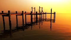 Sunrise on the dock (slack12) Tags: sunrise bay dock maryland chesapeake naturesfinest specsky aplusphoto diamondclassphotographer flickrdiamond ysplix flickrslegend dazzlingshots