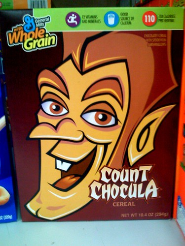 Count Chocula, what have they done to you!?