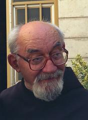 EMMANUELE TESTA OFM (stan32) Tags: man beard glasses jerusalem bible professor holyland franciscans