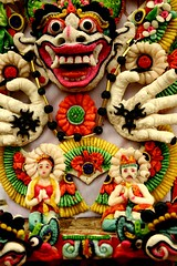 tepung beras (Farl) Tags: bali colors indonesia couple religion decoration culture offering hinduism symbolism cremation sarad karangasem bhoma penaban ngeroras