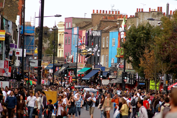 Camden High Street :: Click for previous photo