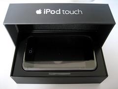 Eerste blik op de iPod Touch.