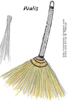 Comics Mix Broom Walis